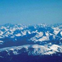 снег в горах :: Татьяна Рыбина