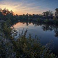 Сергей Костарев - Закат на реке
