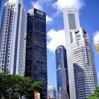 Небоскребы Сингапура-2 :: михаил кибирев