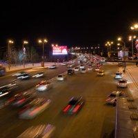 Вечерний город :: Валентин Жеребятников