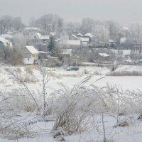 Зимнее утро окраии :: Павел Данилевский