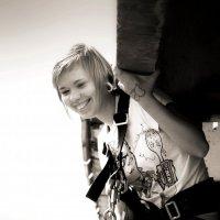 Кристина на прыжках!!! :: Дмитрий Арсеньев