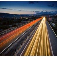 Night motorway :: Александр Константинов