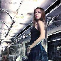 В метро :: Yuliya Litvinova (Minaeva)