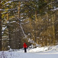 Лыжная база в Сосновке :: Роман Кормин