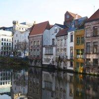 канал в г.Гент, Бельгия :: inna mac
