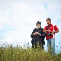 Беседа с Батюшкой. :: Алексей Мерзлый