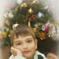 Дед Мороз, я тебя жду:) :: Анна Фабульян