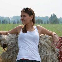 девушка на ранчо :: Зоя Яковлева