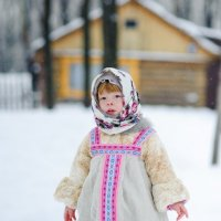 Барышня-крестьянка :: Татьяна Майорова