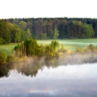 Туман над рекой :: Николай Климович