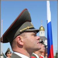 Мамаев курган.Почетный караул.Захоронение останков советских воинов... :: юрий сухинин