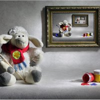 Счет овечек перед сном :: Виктория Иванова