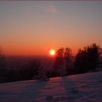 Когда солнце садится за горизонт... :: Ольга Гавриленко