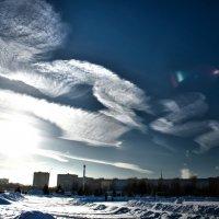 белой краской по небу :: Дмитрий Симонов