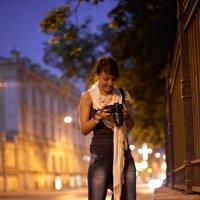 ночная прогулка :: Катерина Сметанкина
