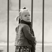 Такая серьезная девушка. :: Larisa Gavlovskaya