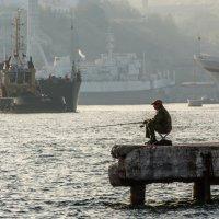 Одинокий рыбачок :: Игорь Кузьмин