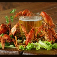 Кто вперёд, того и пиво... :: Светлана Карнаух