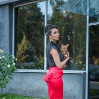 Дама с собачкой :: Кристина Волкова(Загальцева)