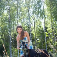 Настасья с Джульеттой. :: Наташа Ромашова