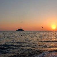 Морской закат :: Тамара