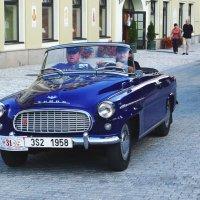 Ретро Шкода Skoda 450 Roadster :: Евгений Кривошеев
