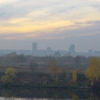 Туман перед закатом :: Светлана Тишкова