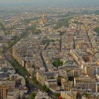 Париж с высоты птичьего полета :: Лидия Цапко