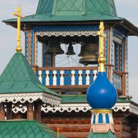 Колокольня Богоявленского храма :: Олег Каплун