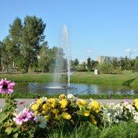 Городской фонтан :: юрий Амосов