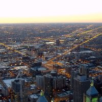 Подлетая к Чикаго :: анна нестерова