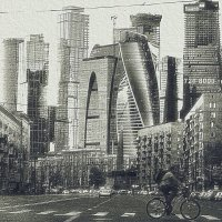 Moscow-city :: Ольга Сергеева