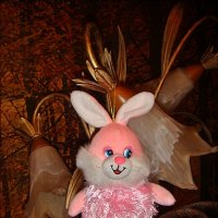 Розовый зайчик :: Нина Корешкова