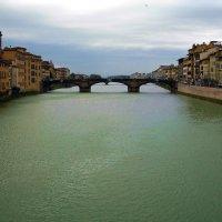 Флоренция. Река Арно :: Алла Захарова