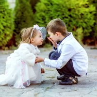 воздушный поцелуй :: Янина Гришкова