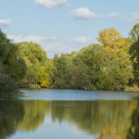 осень тоже бывает красивая :: Таня Кулешова