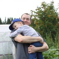папа и сын :: Екатерина Зуева