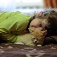 Теперь у нас котенок :: Дмитрий