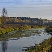 Малые реки Подмосковья. Истра. :: Александр Белоглазов