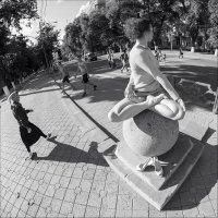 Девочка на шаре :: Shhaman Борденюк
