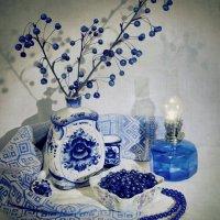 синий натюрморт :: Анна Шелест