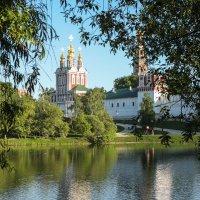 Виды Новодевичий монастырь :: Ирина Корнеева