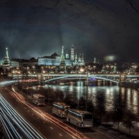 Moscow/night :: Lasc1vo Артёмин