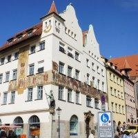 Дом с фресками в Нюрнберге :: Елена Павлова (Смолова)
