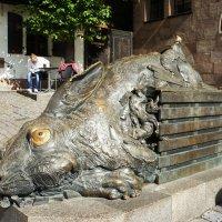 Заяц Дюрера. Скульптор Юрген Герц, 1984 г. :: Елена Павлова (Смолова)