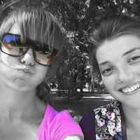 Я и Любаша))) :: юлия рудакова