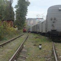 Поезд на запасных путях :: Олег Козырев