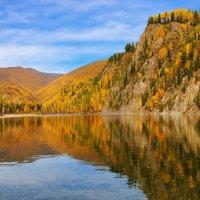 Осень на Сибирской Оке :: Виктор Никитин
