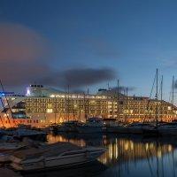 """Супер-отель на воде """"Sunborn Gibraltar"""" :: Анастасия Богатова"""
